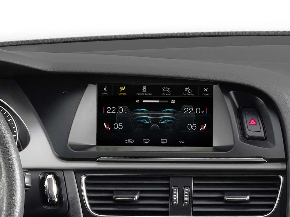 f0d056497 Advanced Navi Station, Alpine Style Product for Audi A4 and A5 ...