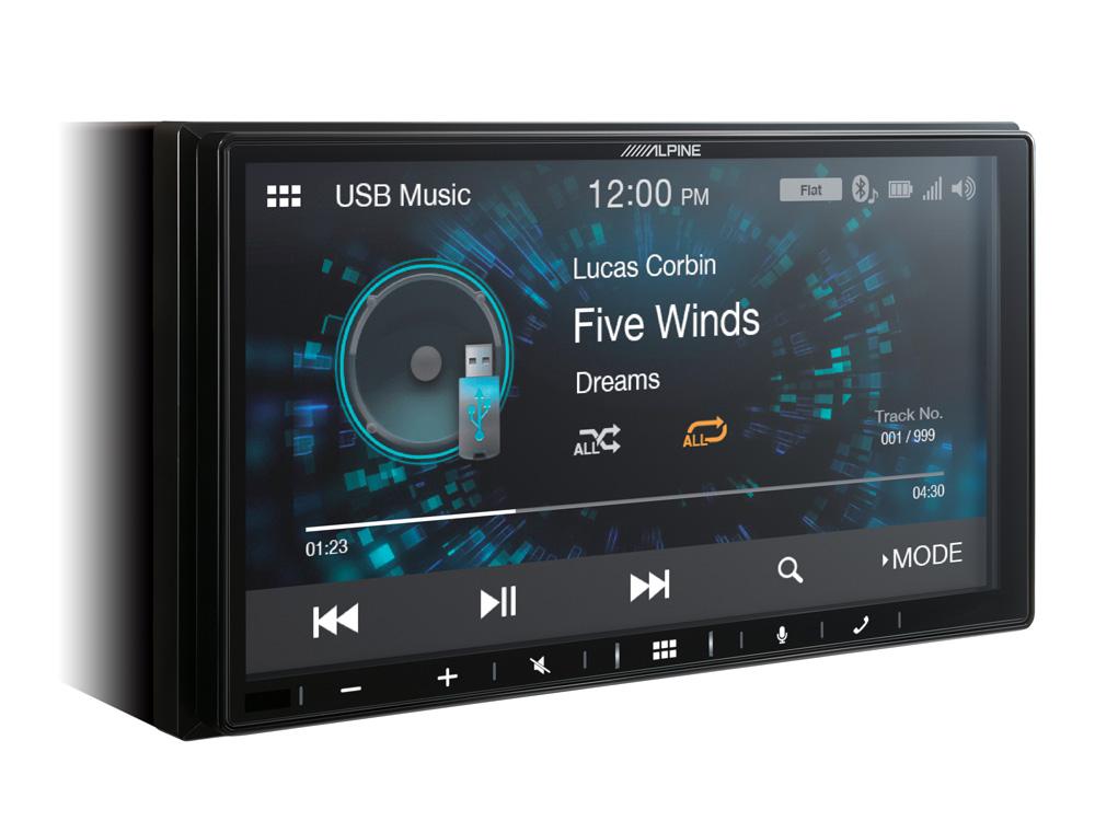 "7"" Digital Media Station, featuring Apple CarPlay and"
