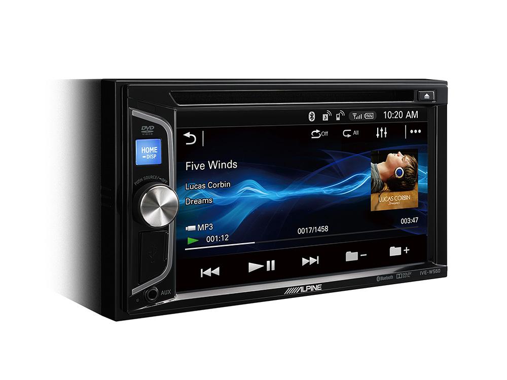 2 DIN MOBILE MEDIA STATION Autoradio with Bluetooth, USB