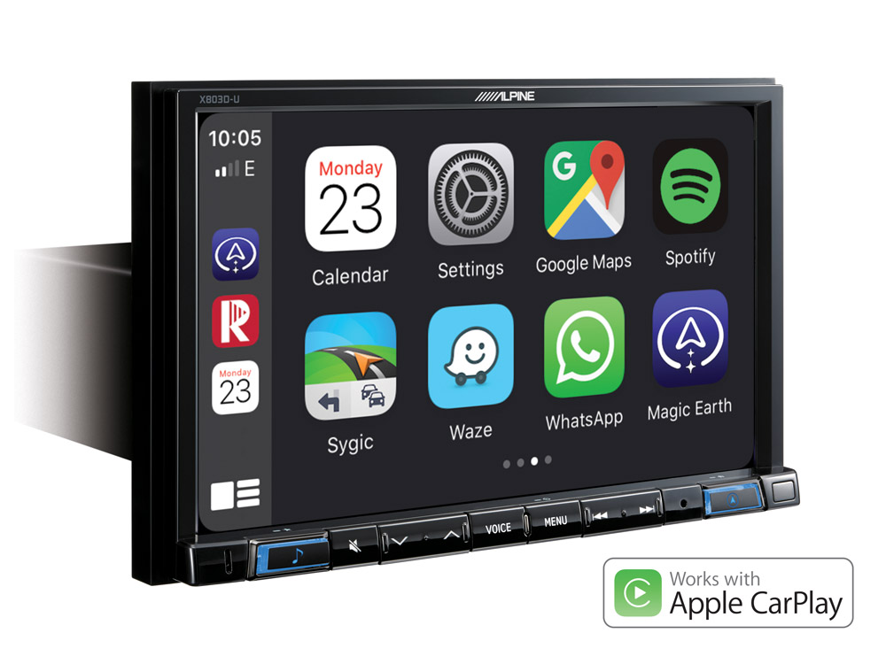 """8"""" Touch Screen Navigation with TomTom maps, compatible with"""