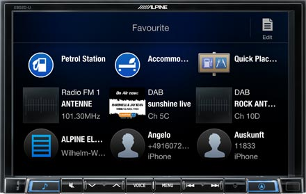 """8"""" Navigation with TomTom maps including trucking feature"""