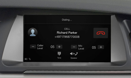 Audi A5 - Built-in Bluetooth® Technology - X702D-A5