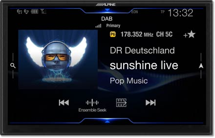 DAB+Digital Radio - Navigation System X902D-F