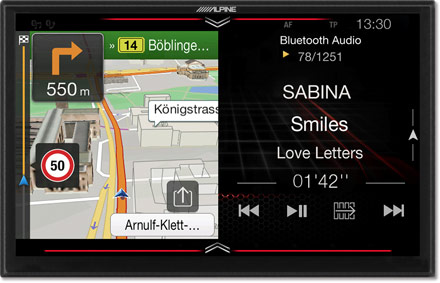 Freestyle 9-inch Navigation System for custom installation with