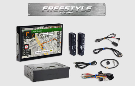 All parts included - Freestyle Navigation System X902DC-F