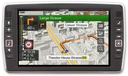 Iveco Daily - Navigation - 3D Maps  - X902D-ID