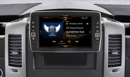 Mercedes Sprinter - DAB Digital Radio - X902D-S906
