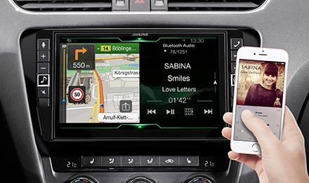 Skoda Octavia 3 - Navigation - One Look Display  - X902D-OC3