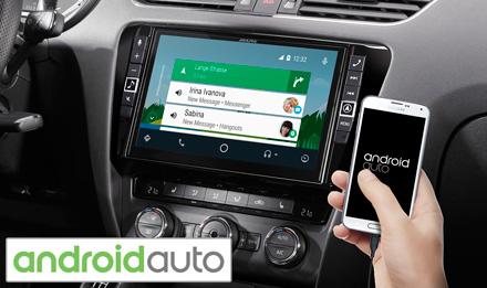 "9"" Mobile Media System for Skoda Octavia 3, featuring Apple CarPlay"