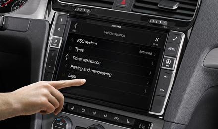Golf 7 - Vehicle System Setup  - X903D-G7