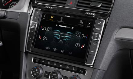 Golf 7 - Air Condition Display - i902D-G7